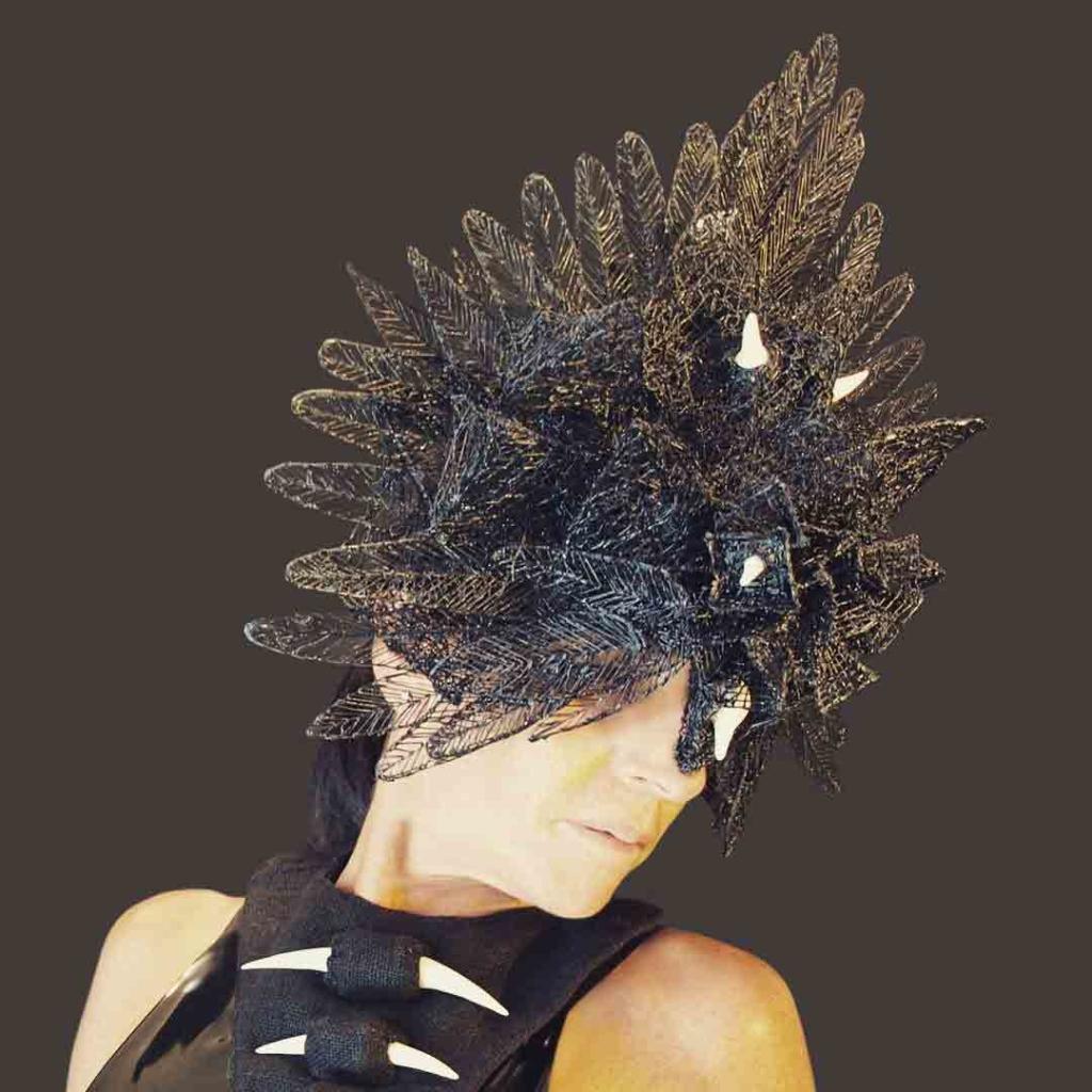 Erica Gray Blackbird Feather