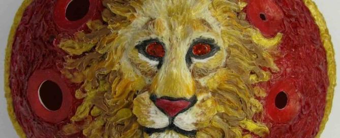 Lion Ocarina Close Up
