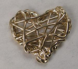 14K 3Doodler Heart