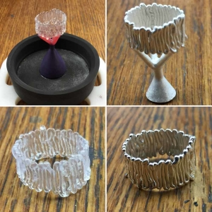 Squiggle Ring 3Doodled Jewelry