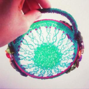 Esra Oguz 3Doodler Ribbon Basket