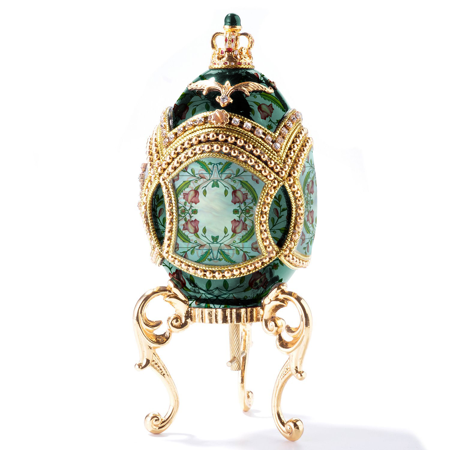 Fabergé_egg_with_pattern_and_gold_stand