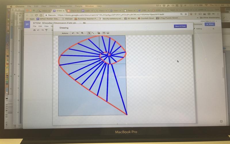 Fibonacci Spider Webs - The 3Doodler EDU