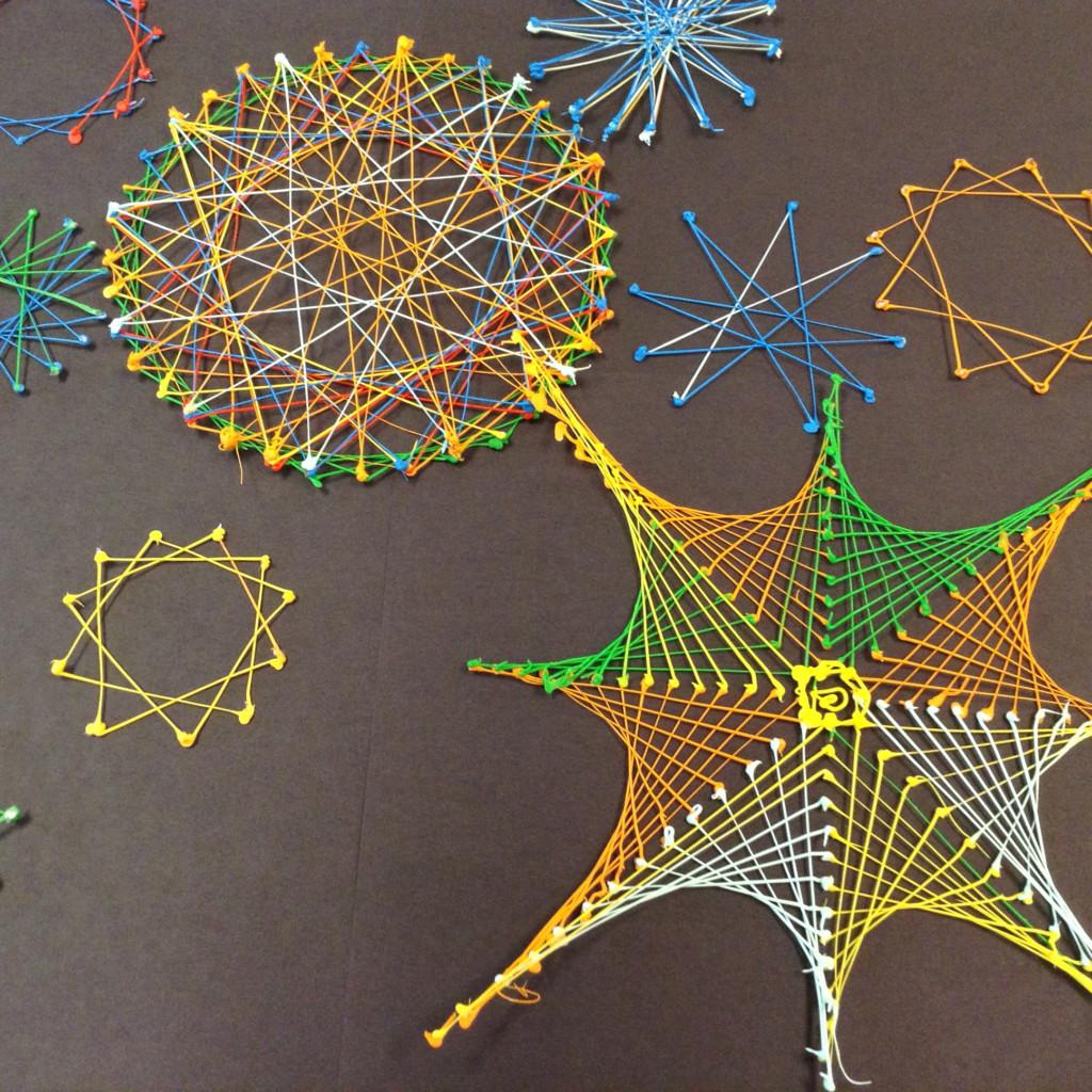 Math: Parabolic Art And Geometry